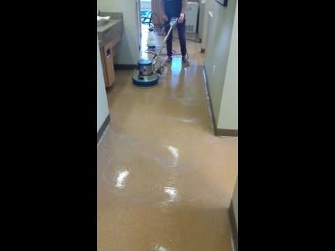 Vinyl Composition Tile (VCT) Cleaning and Finishing