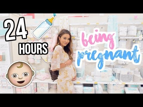 24 HOURS BEING PREGNANT! Sierra Furtado