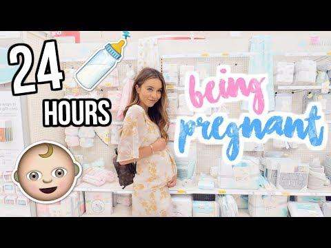24 HOURS BEING PREGNANT! Sierra Furtado