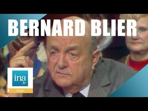 Bernard Blier, Ses Anecdotes Avec Raimu, Jean Gabin Et Jean Carmet | Archive INA