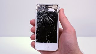 I Restored $5 Destroyed iPhone 4S Back to Brand New - Phone Restoration & Repair