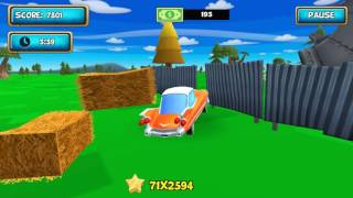 Cartoon Car Crash Derby Destruction World - Gameplay Android
