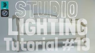 Studio lighting in 3ds max vray Realistic rendering 2016 #13 Free Dwonload