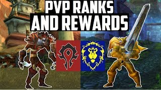 Classic Wow Pvp Ranks And Rewards