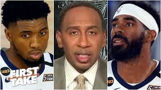 Stephen A. reacts to Mike Conley missing the final shot against the Nuggets in Game 7 | First Take