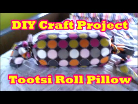 15-minute-no-sew-tootsi-roll-pillow-craft-project