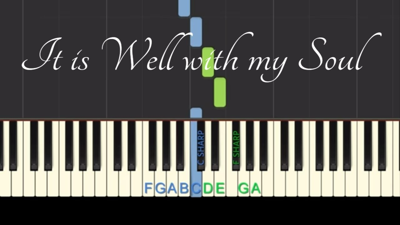 Easy Piano Tutorial: It is Well with my Soul, with free sheet music!