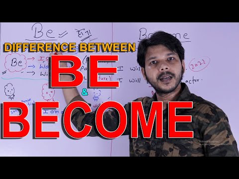 DIFFERENCE BETWEEN BE