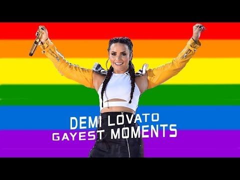 Demi Lovato Gayest Moments 2018