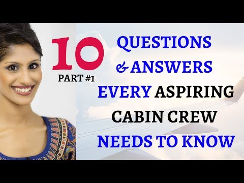 CABIN CREW INTERVIEW QUESTIONS & ANSWERS / SINGAPORE AIRLINES