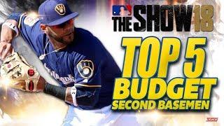 MLB The Show 18 TOP 5 BUDGET 2nd Basemen