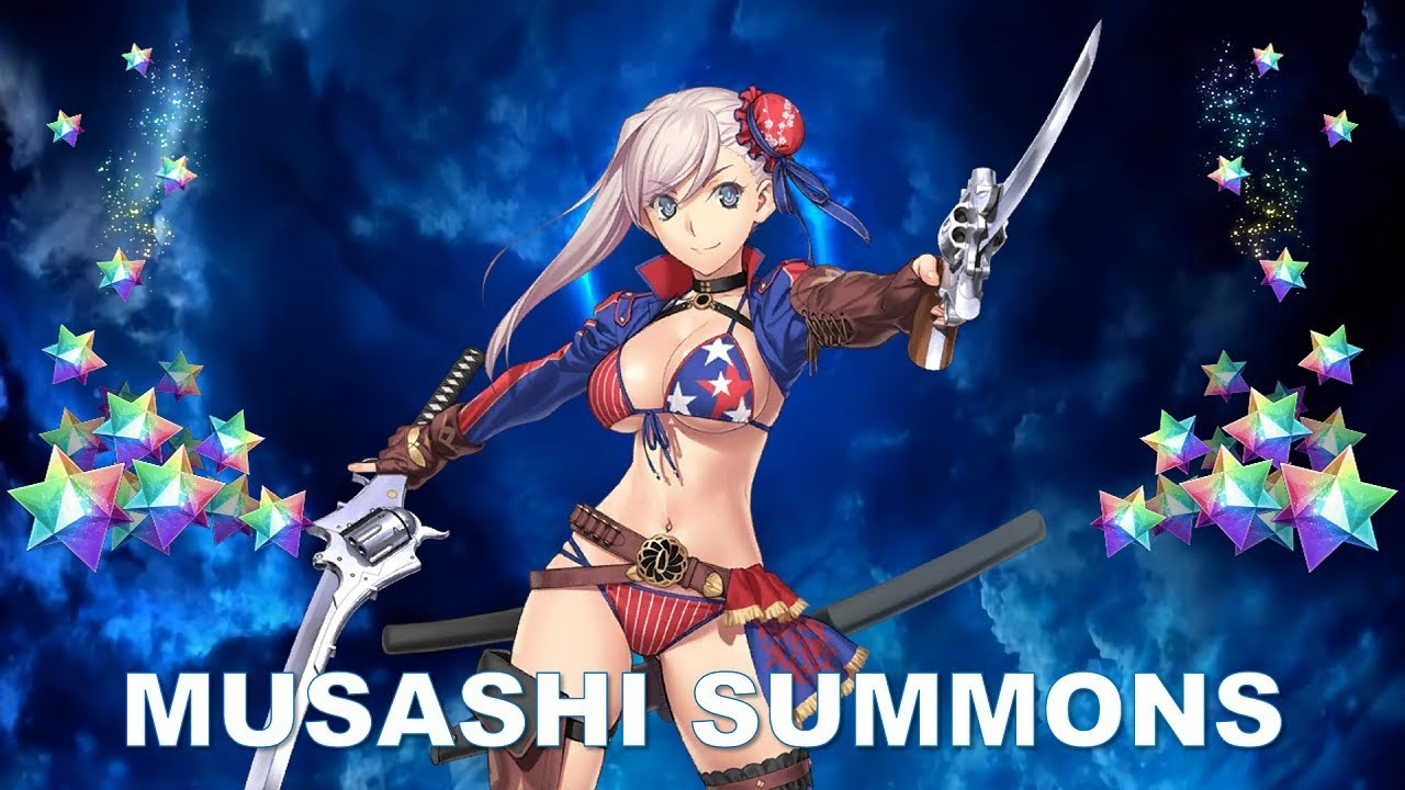Fate Grand Order Las Vegas Summer Event Summoning For Musashi Berserker Youtube