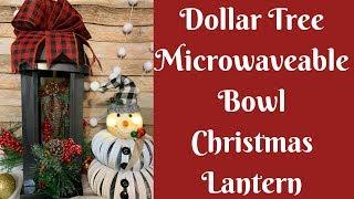 Dollar Tree Christmas Crafts: Dollar Tree Christmas Lantern
