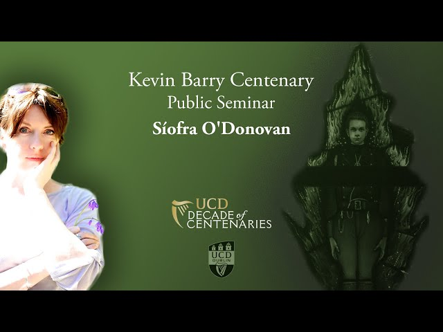 Kevin Barry - Student, Dancer and Soldier | Síofra O'Donovan