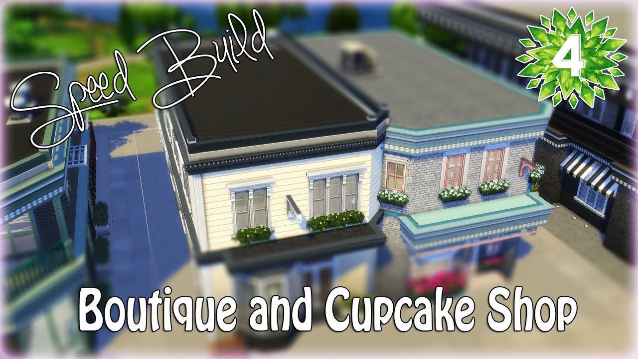 Sims  Build Clothing Store