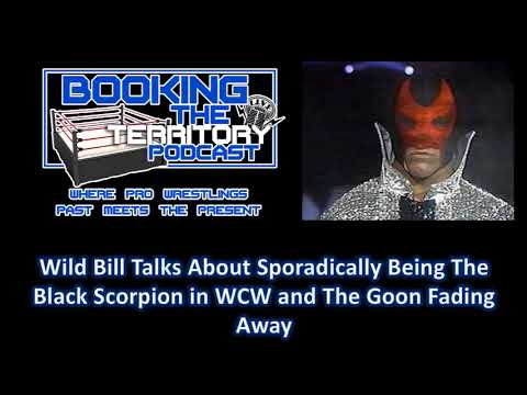Wild Bill Irwin Talks About The Black Scorpion in WCW and The Goon Fading Away