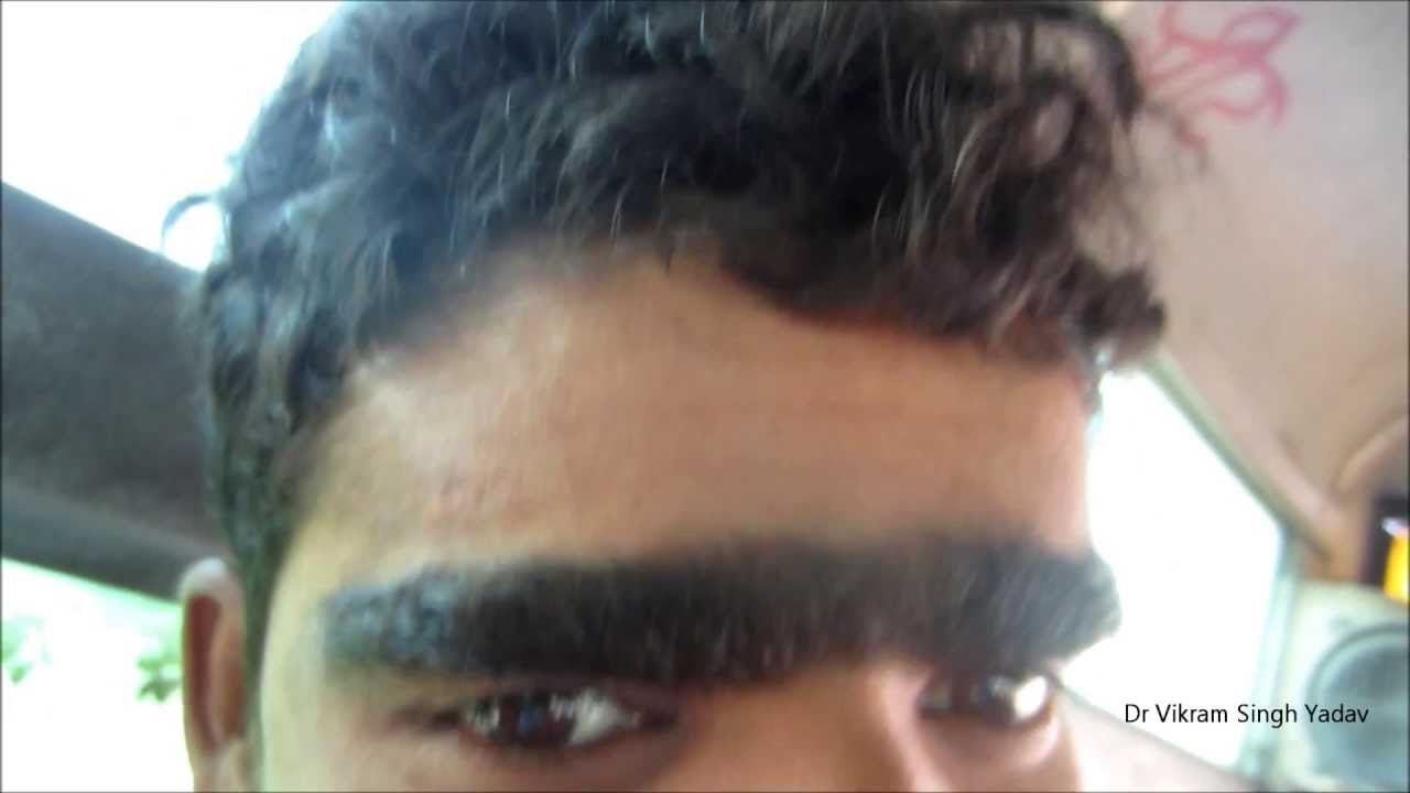 Longest Eyebrow in The World - YouTube