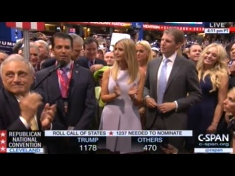 State By State Roll Call Vote Makes Donald Trump The Official Republican Nominee For POTUS!