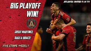 Five Stripes' First Playoff Series Win!   FIVE STRIPE WEEKLY PODCAST #55