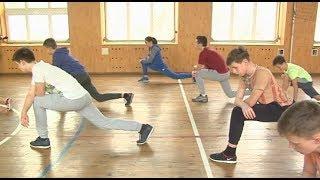 Ольга Полюк провела урок фізичної культури в обласному ліцеї-інтернаті