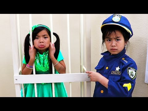 Professions Jobs and Career Song  Jannie & Emma Pretend Play Nursery Rhymes and Kids Songs