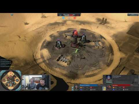 [Dow2] ManOnMars(Tech Marine) vs Cornholio(Lord General)