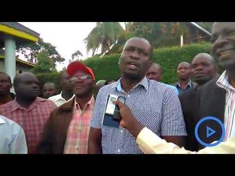 Edwin Sifuna on ODM party popularity in the Western region