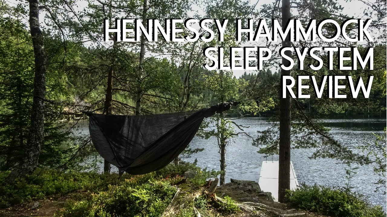hennessy hammock ultralight sleep system review youtube