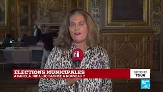 Municipales 2020 : Anne Hidalgo, Réélue à Paris Avec Près De 50% Des Voix