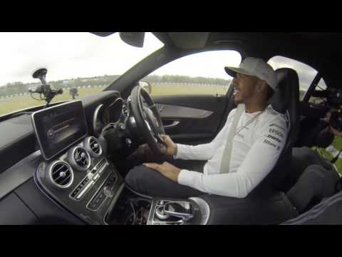 Driving with Lewis Hamilton 16.02.2017.