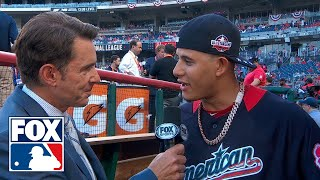 Manny Machado talks with Tom Verducci on rumors claiming he will be traded to the Dodgers | FOX MLB