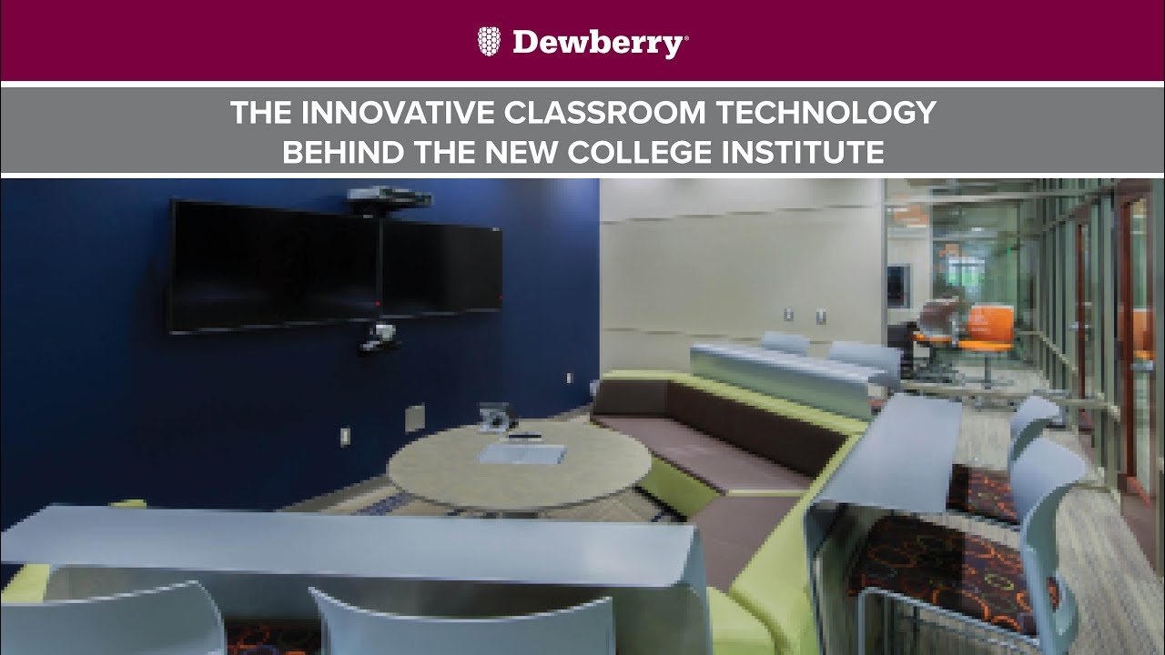 Innovative Classroom University ~ The innovative classroom technology behind new college