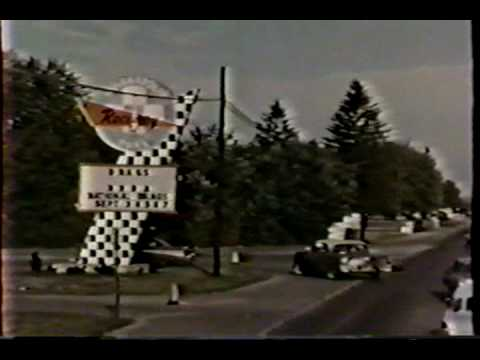 Vintage 1960's Drag Racing - rare footage