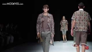 SPRING SUMMER 2014 ANDREA POMPILIO ( Exclusive interview, backstage,runway) FHD