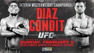 Carlos Condit vs Nick Diaz [HIGHLIGHTS]