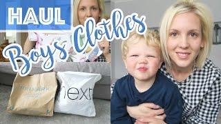 Massive Boys Clothes Haul Age 3-4     Next & Primark