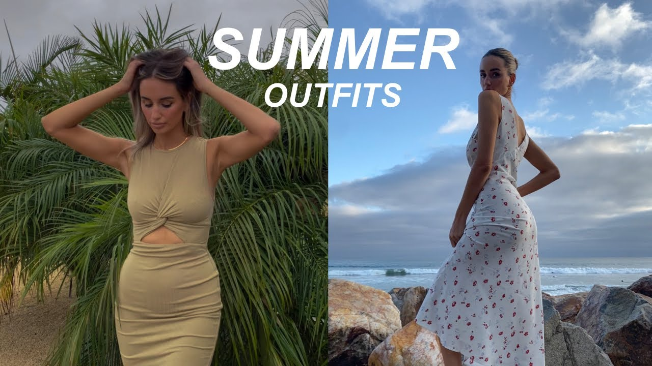 Summer Outfits: Urban Outfitters, Revolve, Realisation Par