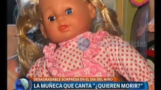"""Una Muñeca Que Canta """"Quieren Morir"""" - Telefe Noticias"""