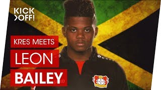 Leon Bailey - Bundesliga Star from Jamaica to Leverkusen | Interview