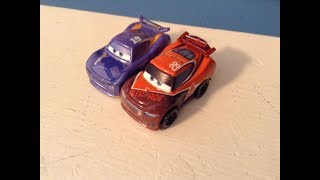 Disney Cars Mini Racers Danny Swerve and Tim Treadless Review