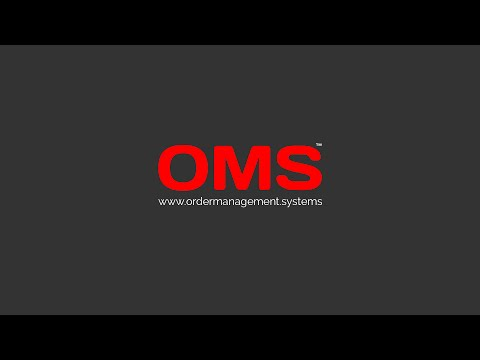 Order Management Systems Software (OMS)
