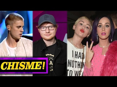 Justin Bieber Golpeado por Ed Sheeran, Miley Cyrus y Katy Perry Pelea!?