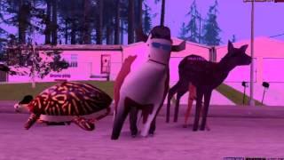 SAMP | Наркоманский клип [Корова,конь и петух :D]Смотреть всем