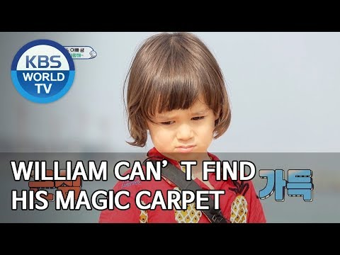 William can't find his magic carpet [The Return of Superman/2020.01.05]