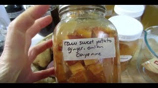 🥔 Fermented Ginger Onion Sweet Potatoes: Keto & Diabetic Friendly 🥔