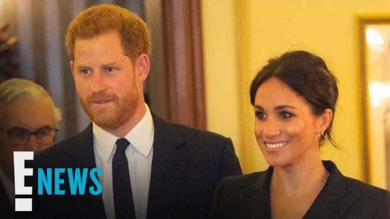 Meghan Markle Rocks a Mini Dress to Event With Prince Harry   E! News