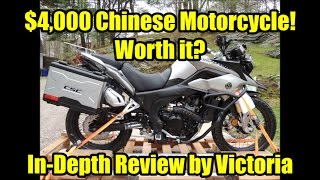 Zongshen RX3 by CSC Motorcycles, In Depth Review by Victoria