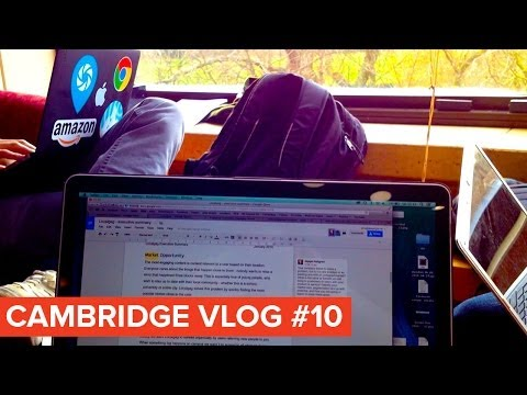 Cambridge Vlog 10 | Group Project