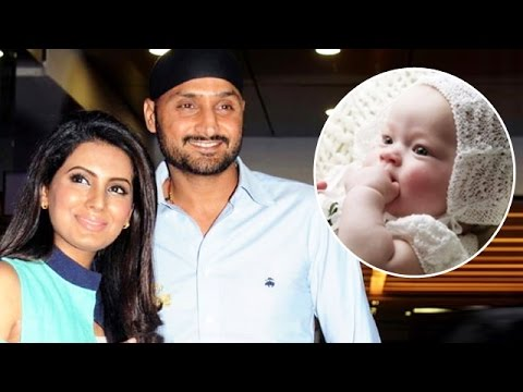 Harbhajan Singh & Geeta Basra Blessed With a Baby Girl