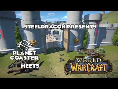 Planet Coaster - Stormwind City